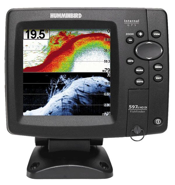 Humminbird 408120-1 Fish finder 597ci HD DI Combo
