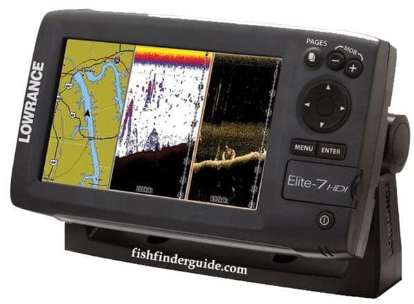 Lowrance Elite 7 CHIRP review