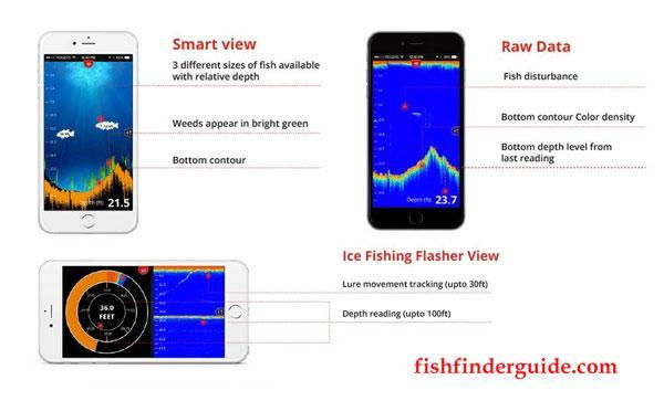 FishHunter Military Grade Portable Fish Finder 3
