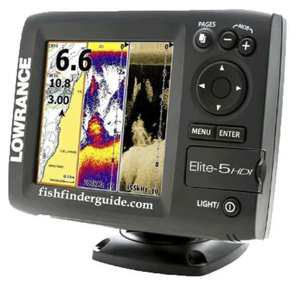 Lowrance Elite 5 HDI Combo review