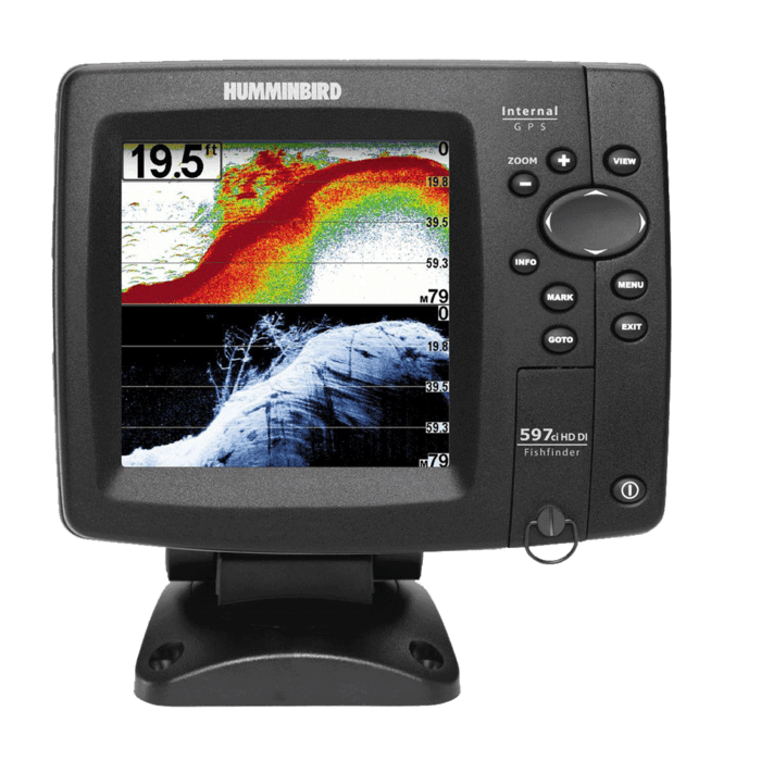 Humminbird Fish finder 597ci HD DI Combo Review